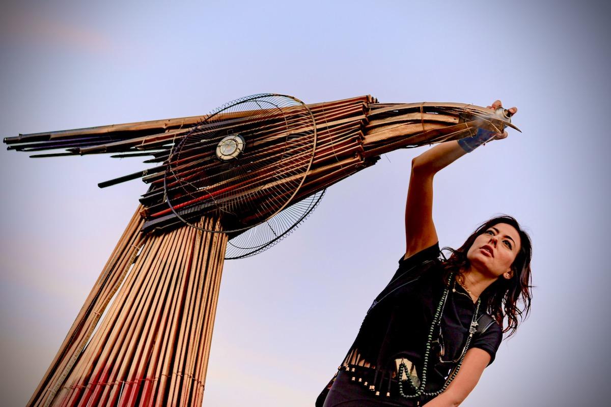 Hayat Nazer Creating Phoenix in Beirut
