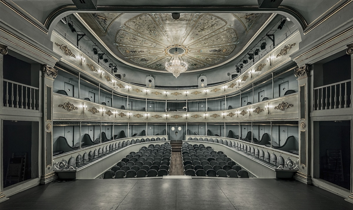 Interior of an Old Theater