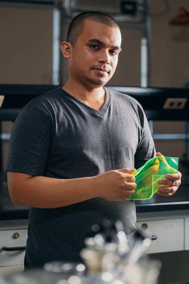 Engineering Student Wins James Dyson Sustainability Award for Solar Panels Made from Food Waste