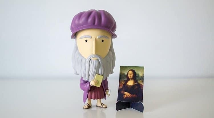 Leonardo da Vinci Action Figure