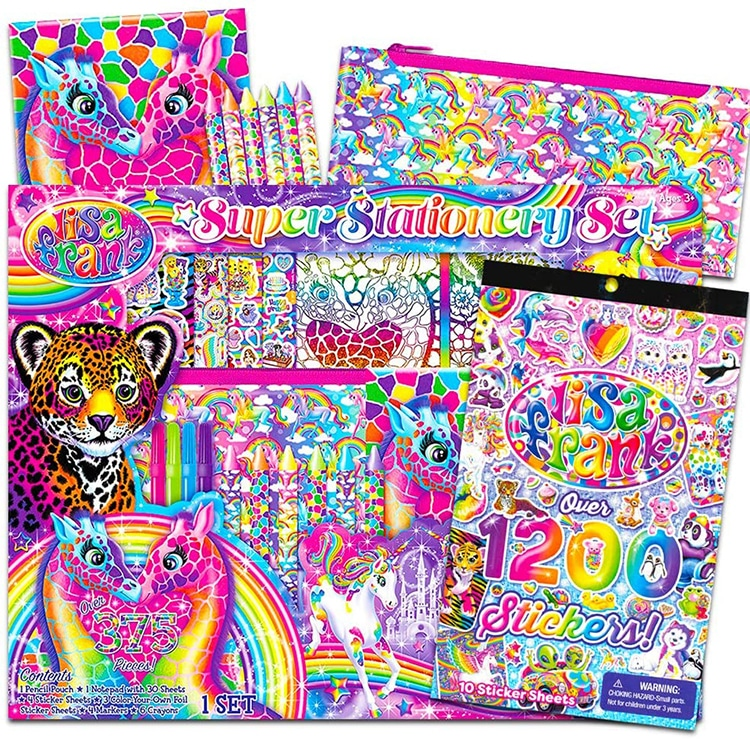 Lisa Frank Stickers Gifts 1990s