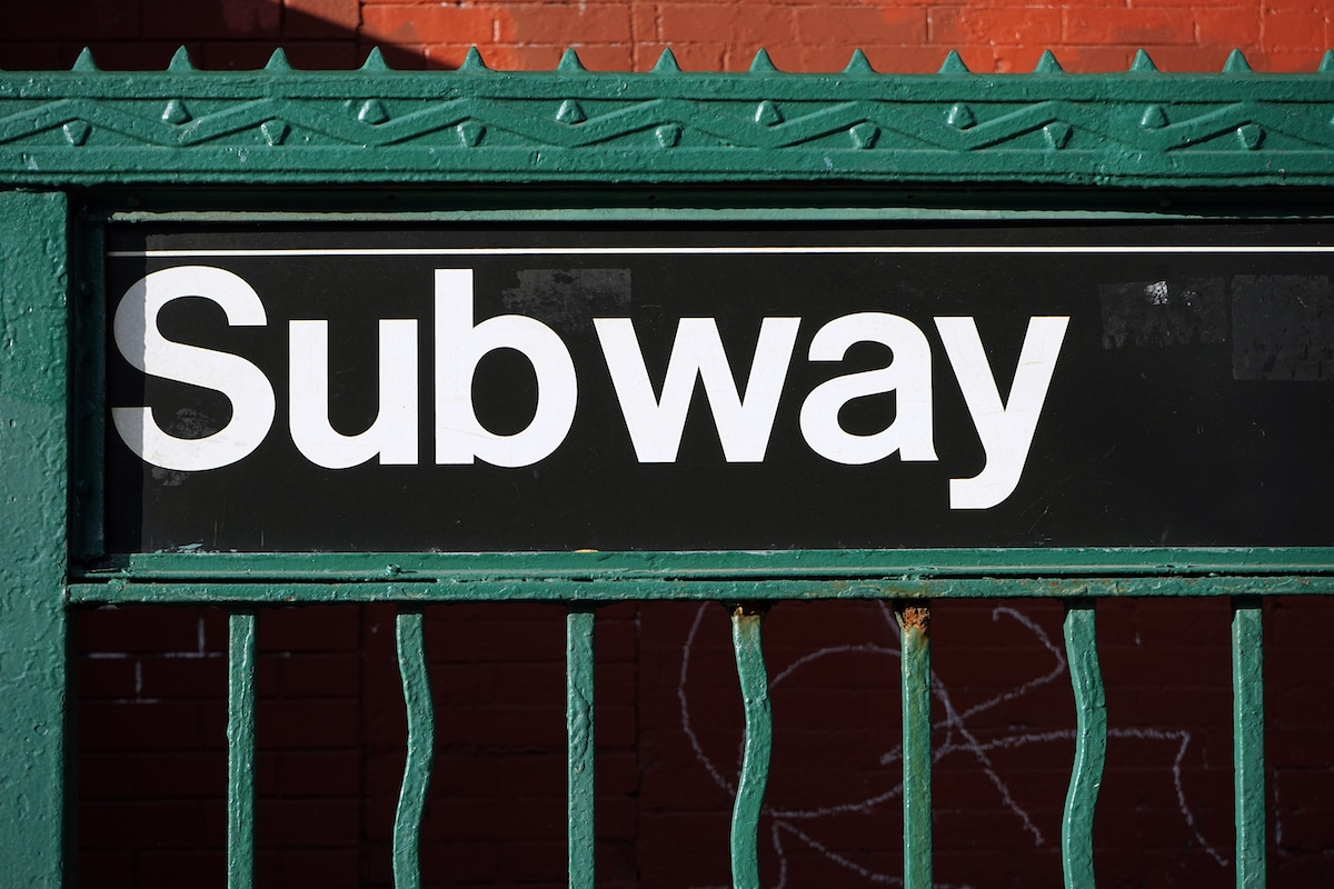 Subway Sign Using Helvetica - Design Is Not Art: The Work and Legacy of Massimo Vignelli
