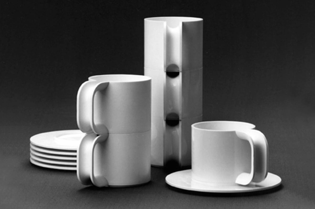 Heller Vignelli Dish Set - Design Is Not Art: The Work and Legacy of Massimo Vignelli