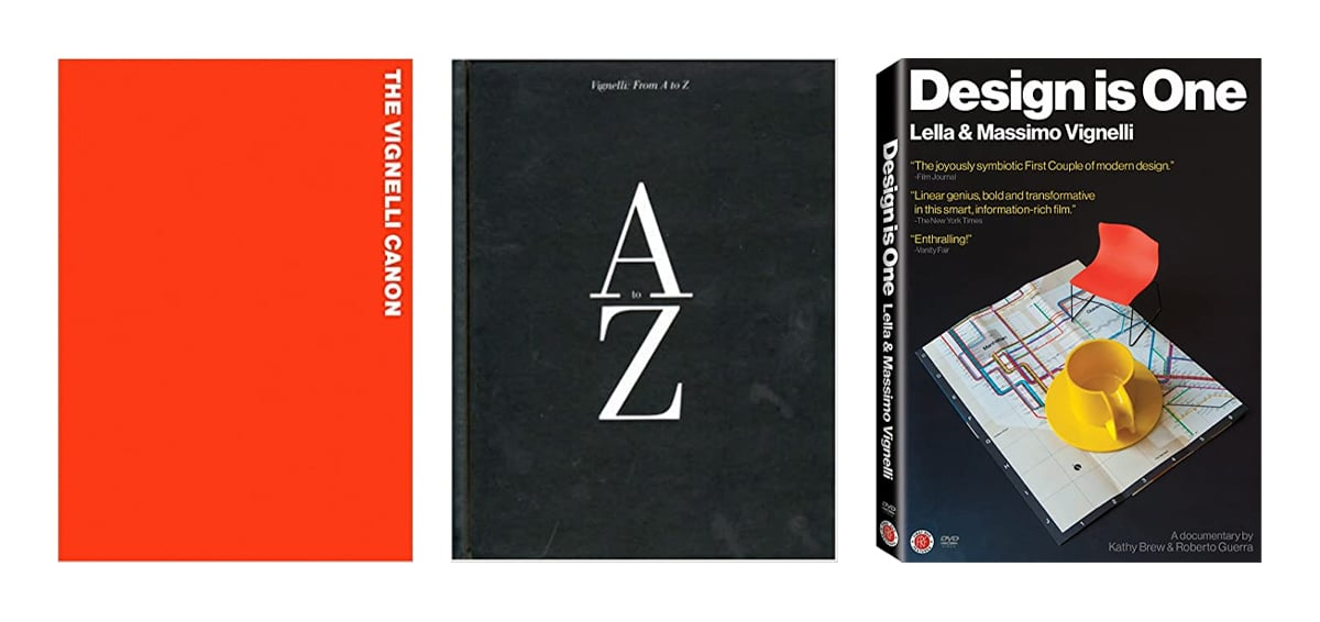 Vignelli Books - Design Is Not Art: The Work and Legacy of Massimo Vignelli