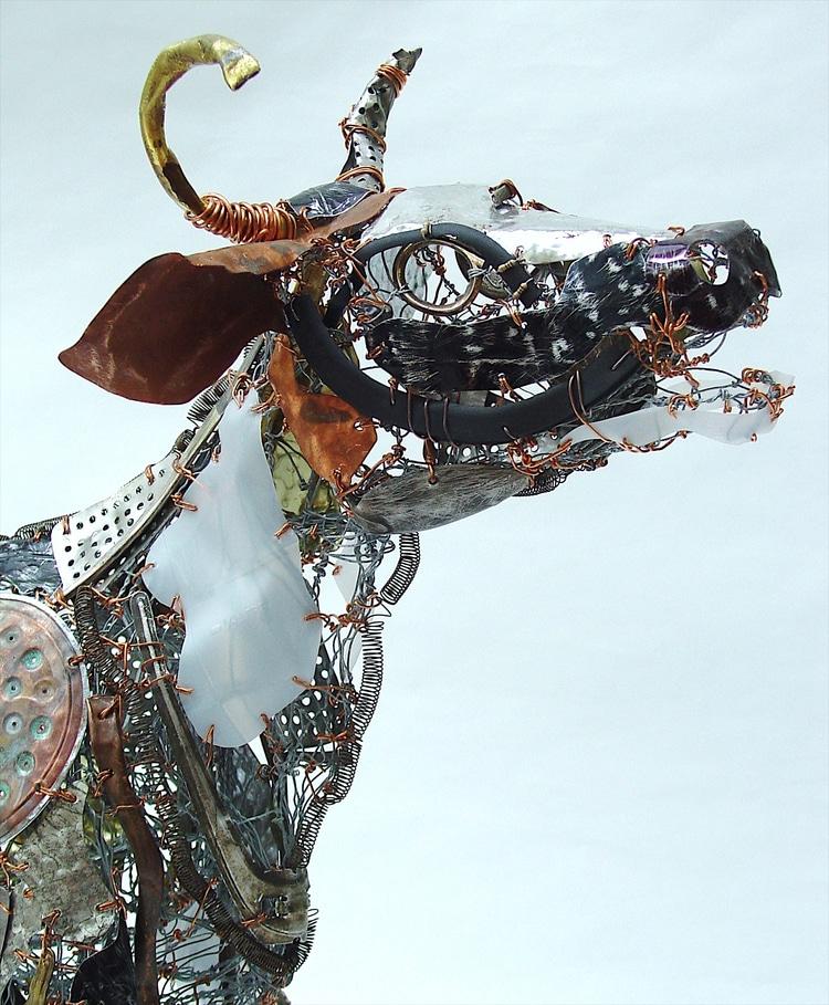 Metal Animal Sculptures by Barbara Franc