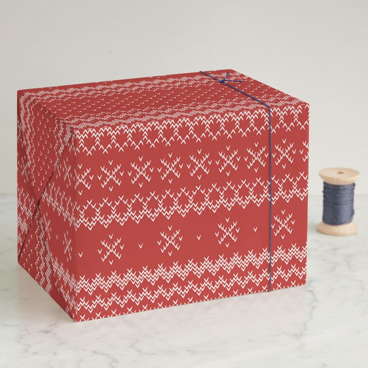 Unique Holiday Wrapping Paper