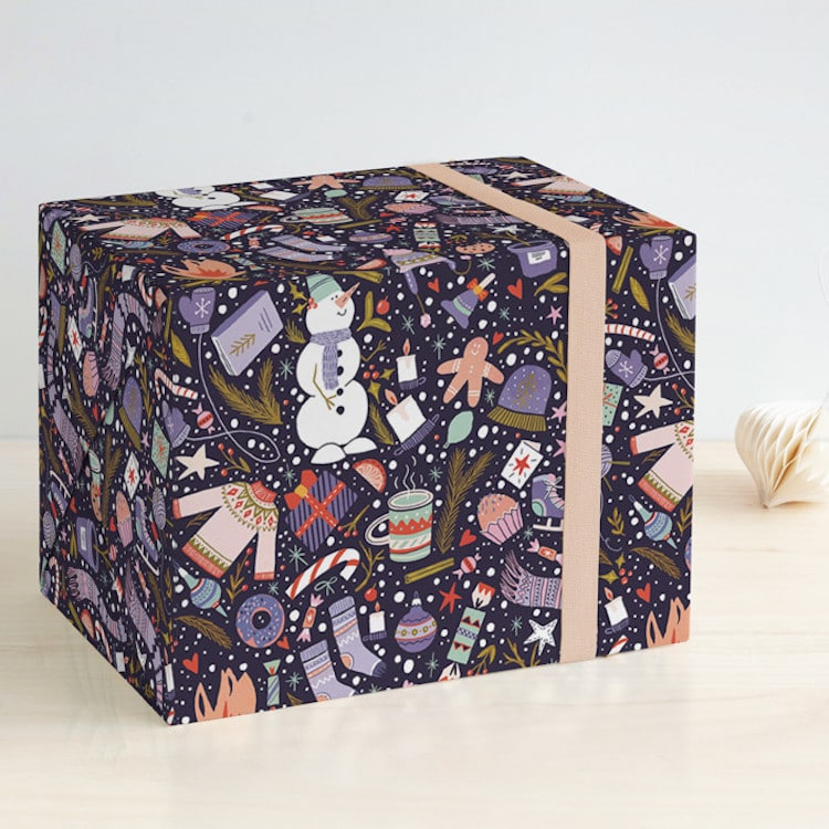 Artistic Wrapping Paper