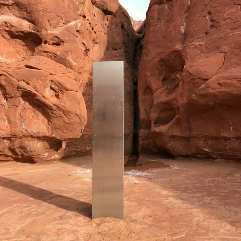 Monolith Utah Desert