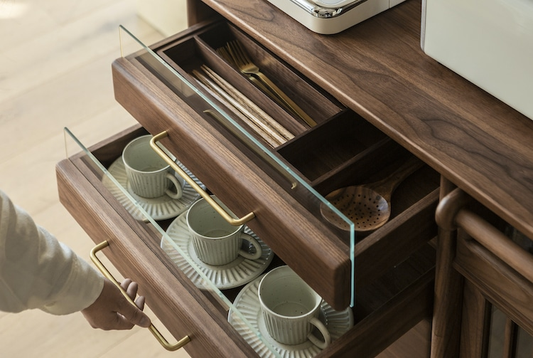 Muzhi Kitchen Cupboard Practical Drawers