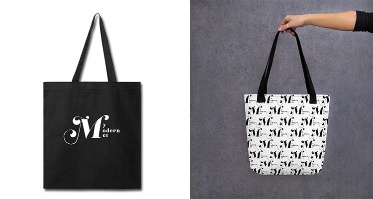 My Modern Met Tote Bags