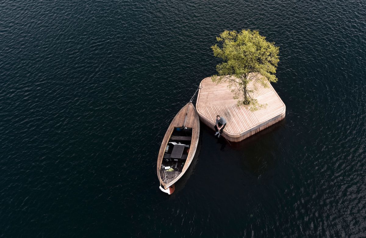Floating Island Parks Will Soon Be Built in Copenhagen Harbor