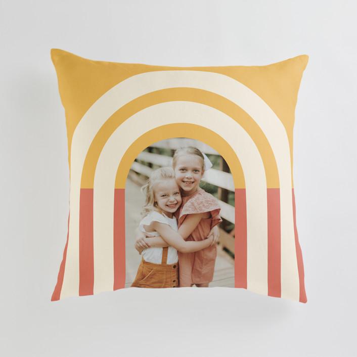 Custom Photo Throw Pillow Minted