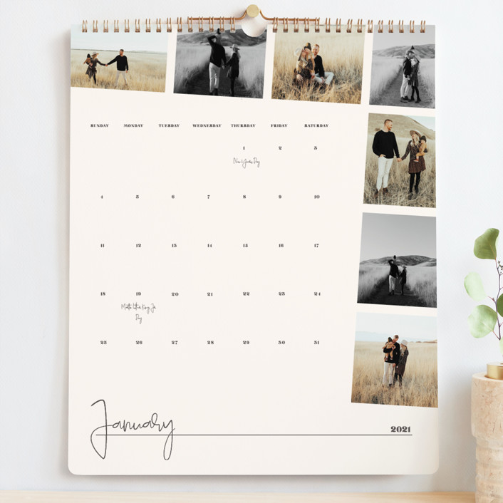 Customized Photo Calendar by Minted