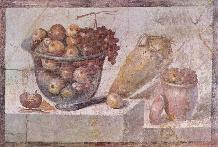 Roman Fruit and Vegetables