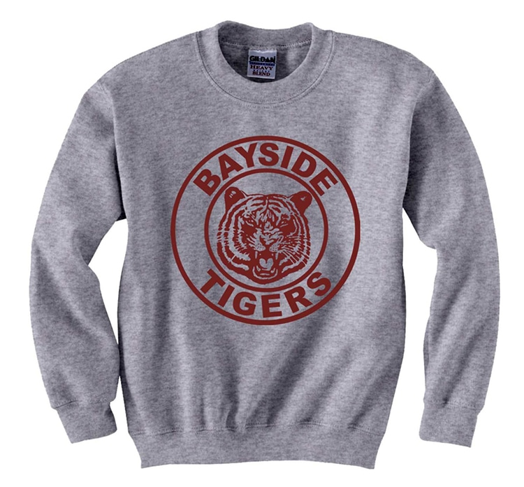 Saved By The bell Bayside Tigers