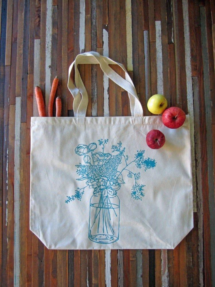 Screen Printed Tote Bag