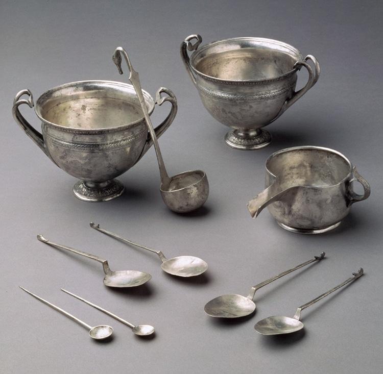 Roman Tableware Silver Tivoli Hoard