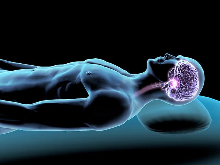 Sleep Study Sleeping Brain Half Awake First-Night Effect