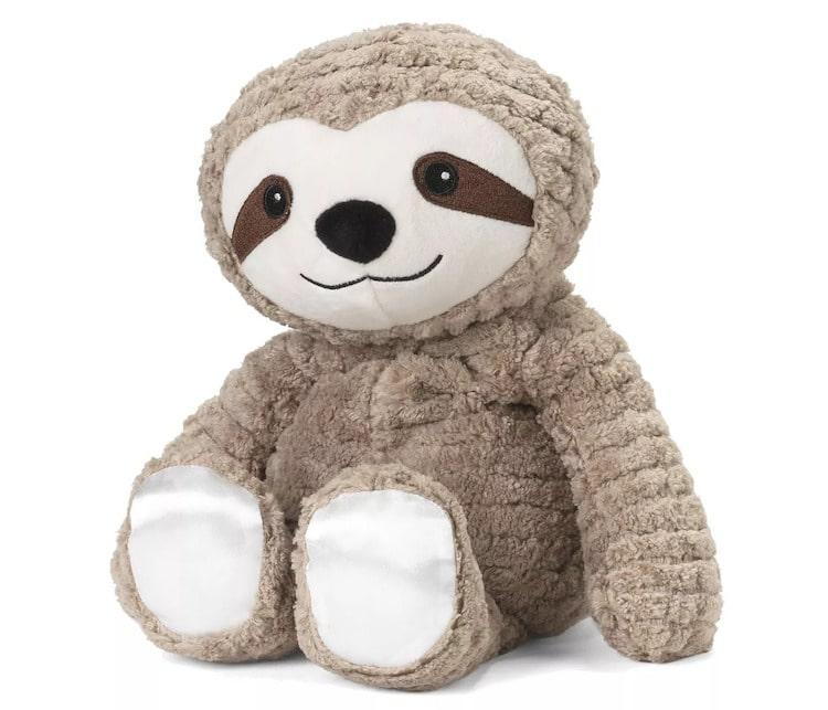 Microwavable Sloth Plush