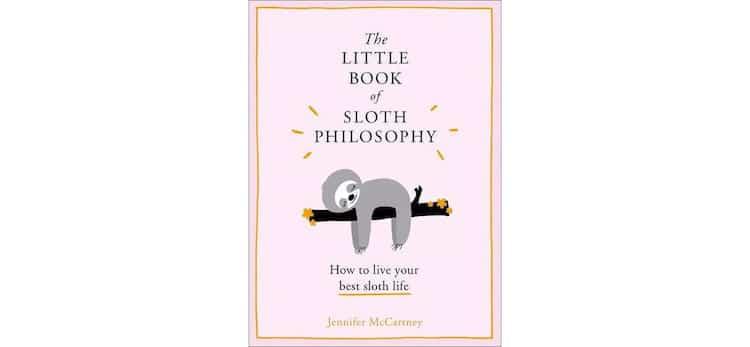 Sloth Philosophy Book