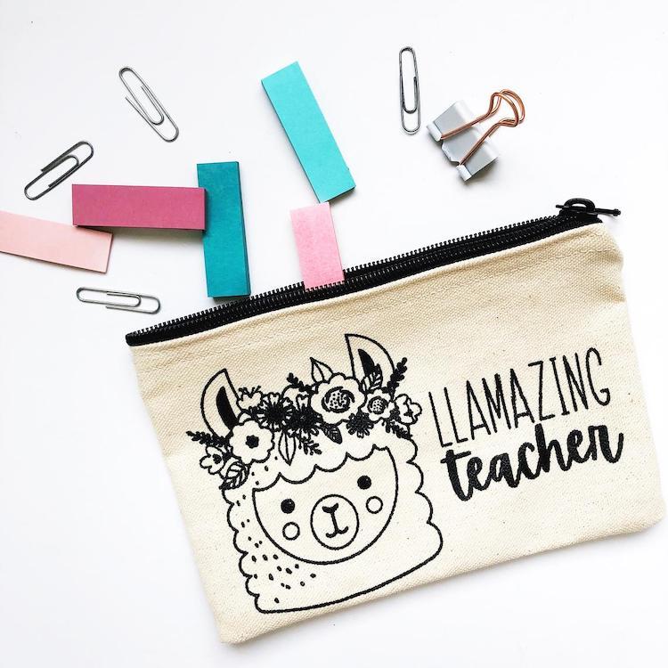 Llama Pencil Case