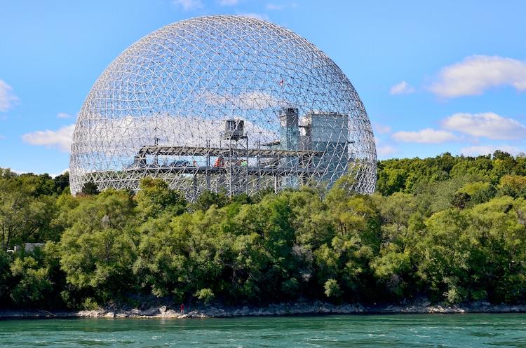 biosphere de montreal arquitectura