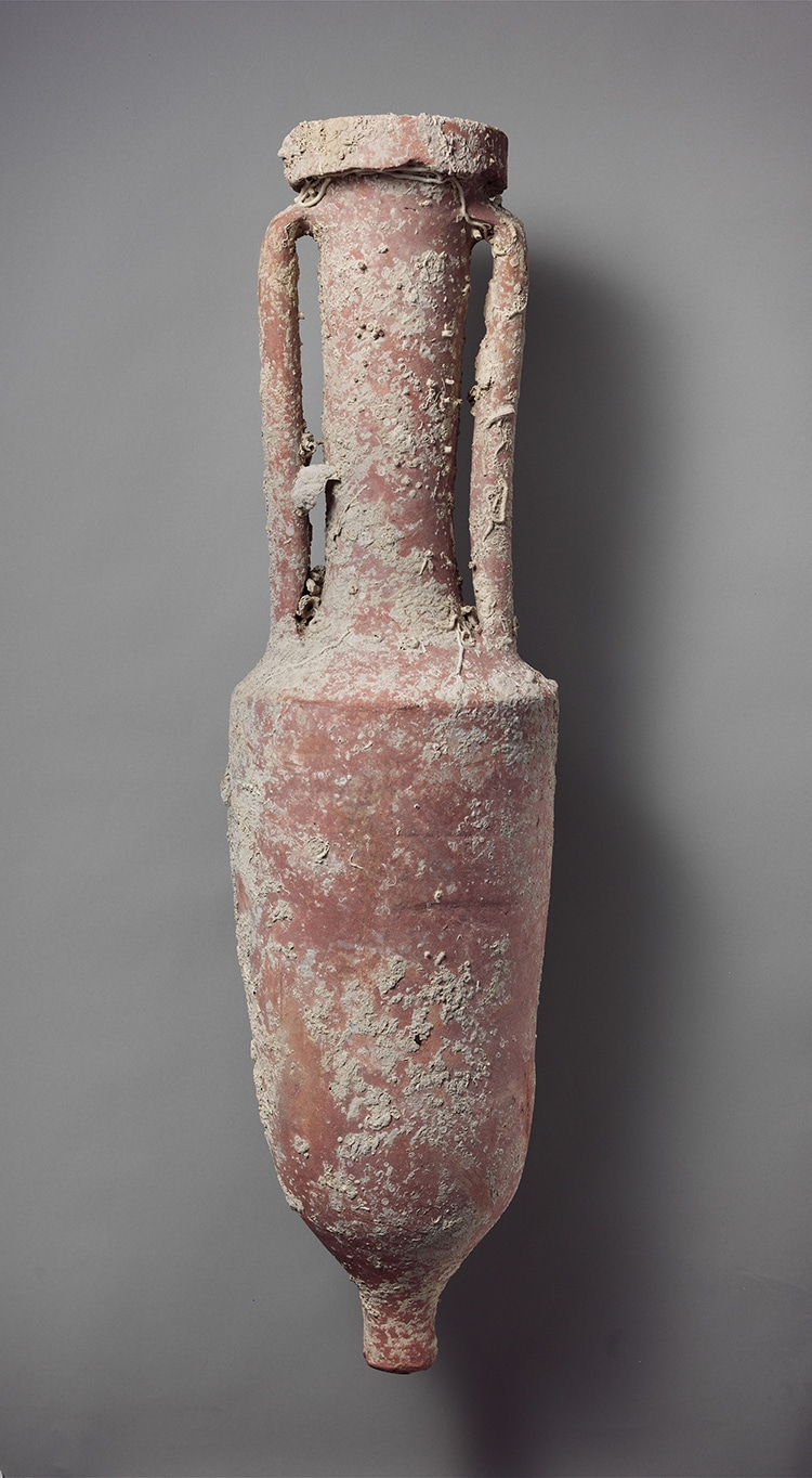 Terracotta Wine Amphora Roman Shipwreck