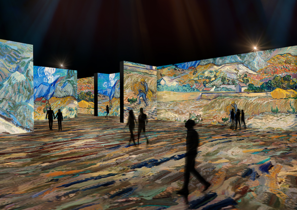 The Lume Van Gogh Exhibition