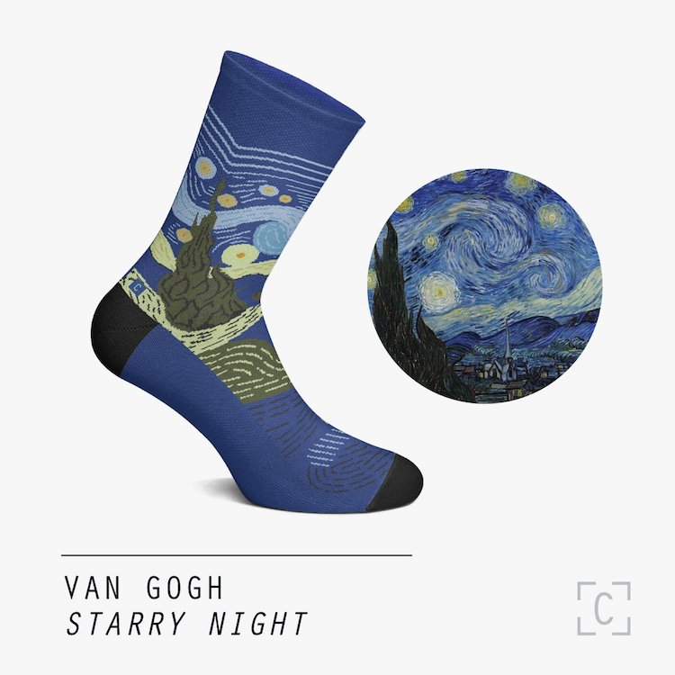 The Starry Night Socks