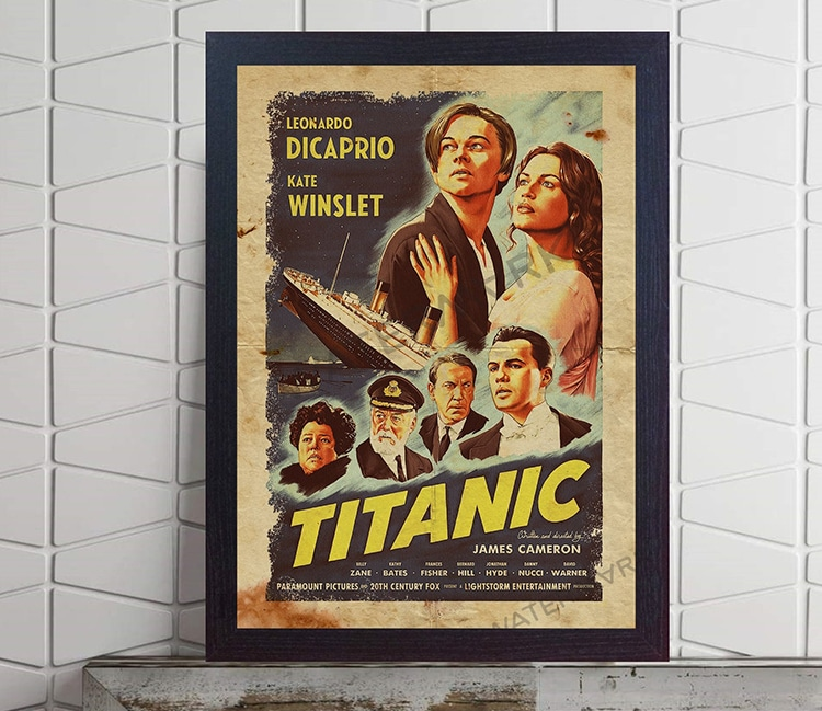 Titanic Movie Poster Gift