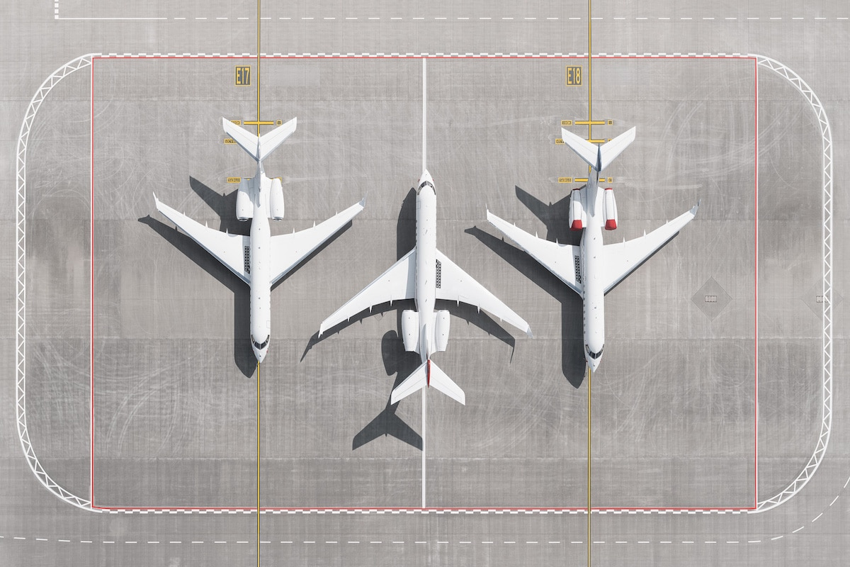 Airplanes Grounded During Coronavirus