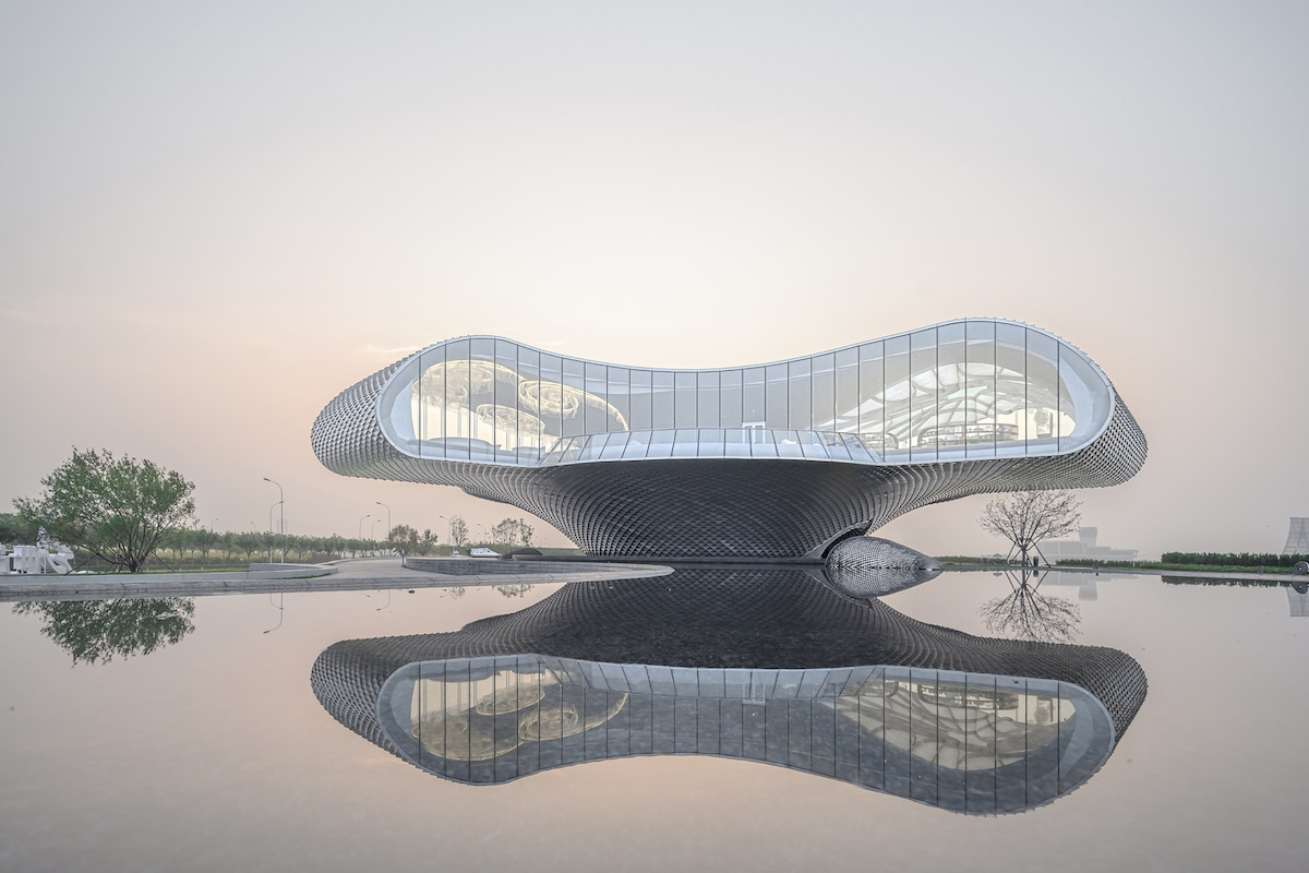 This Art Museum in China is Clad With Thousands of Aluminum Scales