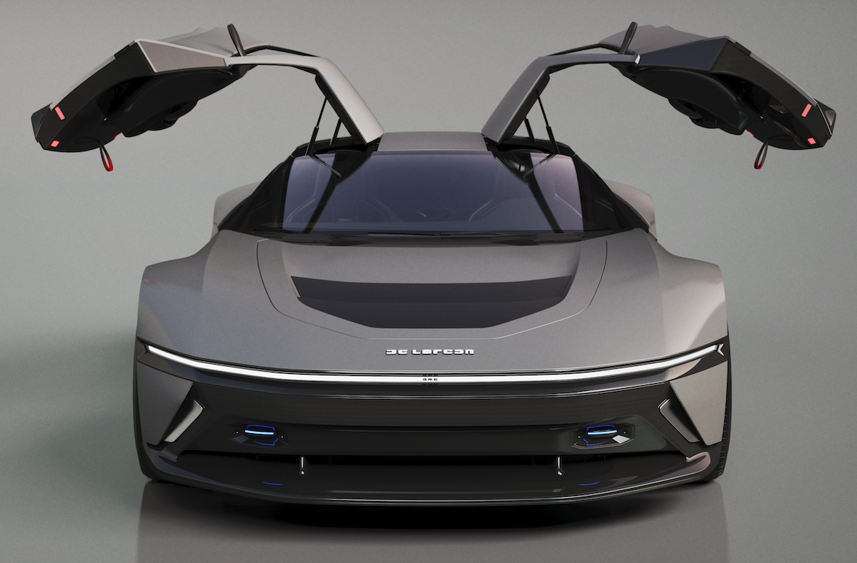 Designer Revamps the Iconic DeLorean DMC12 for the Next Generation of Car Lovers