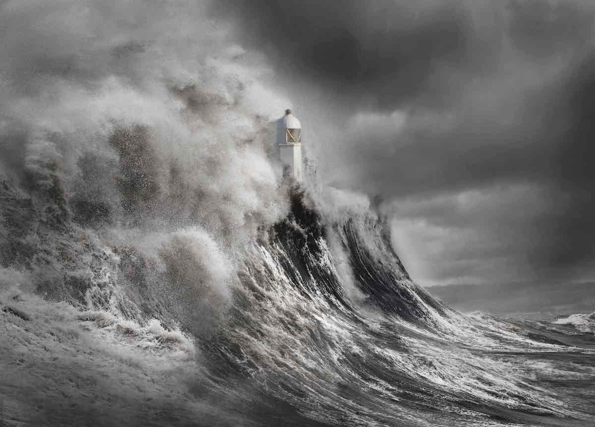 """Drama at the Lighthouse"" by Aleks Gjika."