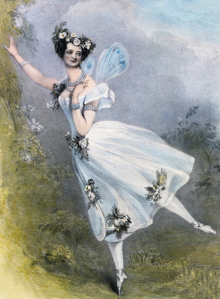 Marie Taglioni In Zephire