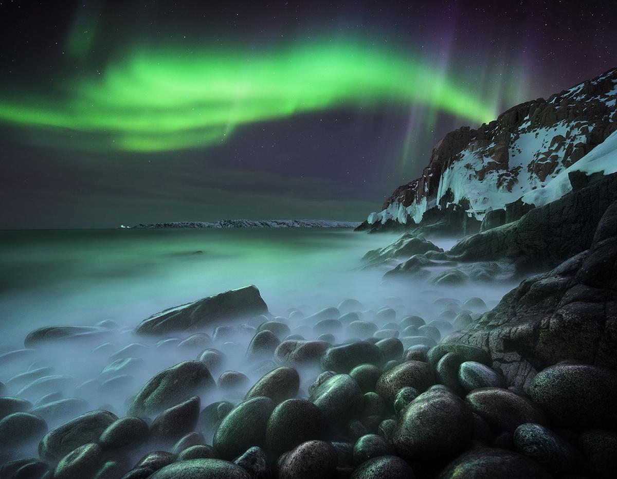 aurora boreal del concurso Photographer of the Year