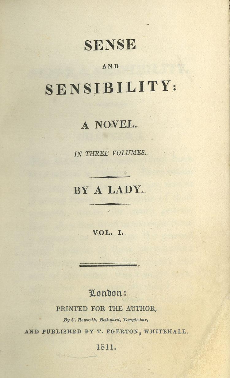 Sense and Sensibility Jane Austen Author Facts Life