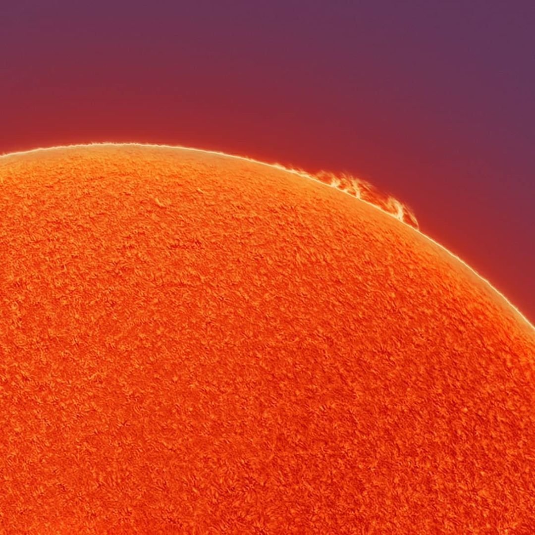 Sun Photograph by Andrew McCarthy