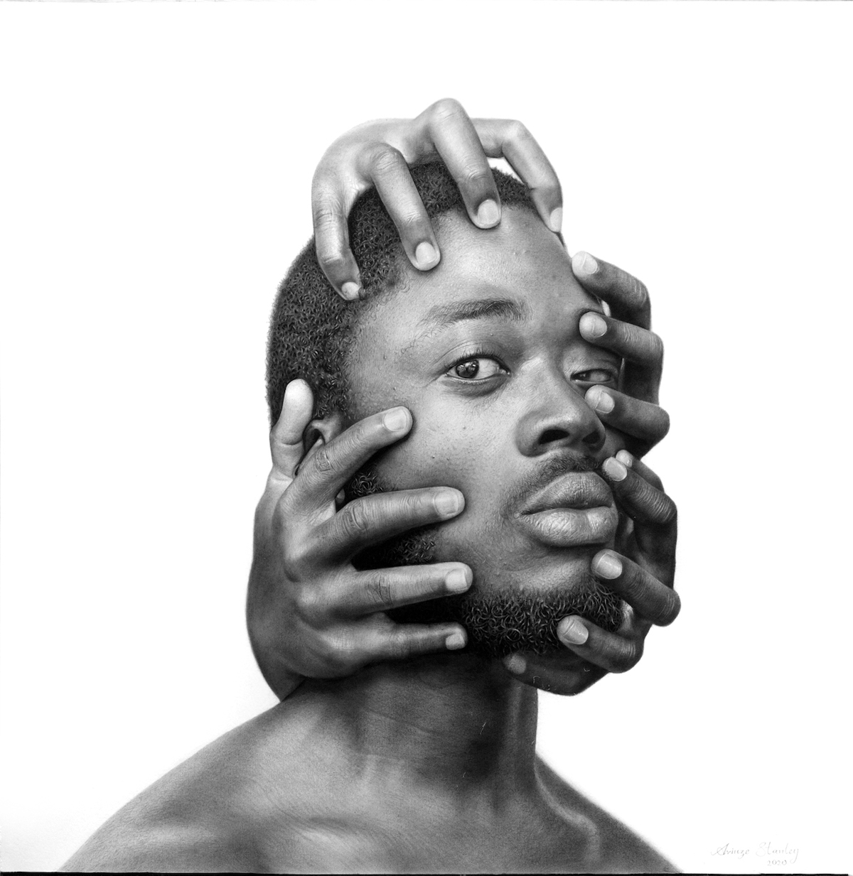 Hyperrealistic Drawings by Arinze Stanley