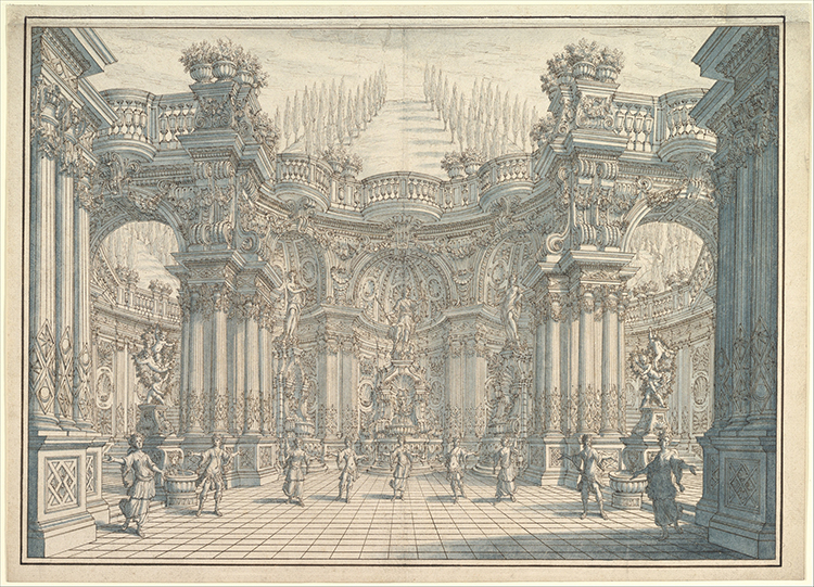 Stage Setting with Ballet 1657–1743