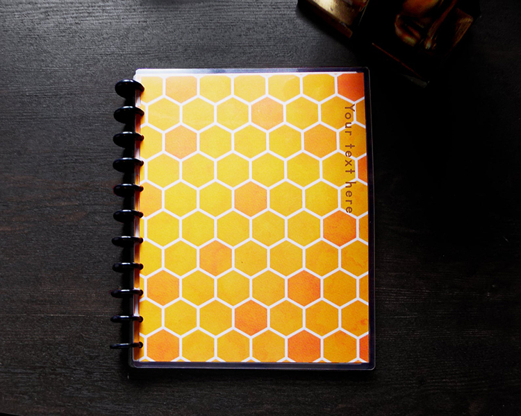 Beehive Planner Notebook Personalized