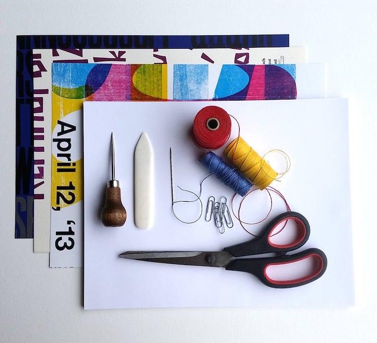 Pamphlet Stitch Book Binding Kit