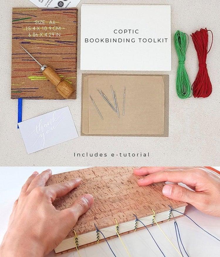 Coptic Stitch Book Binding Kit