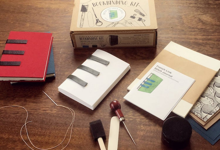 French Link Stitch Book Binding Kit
