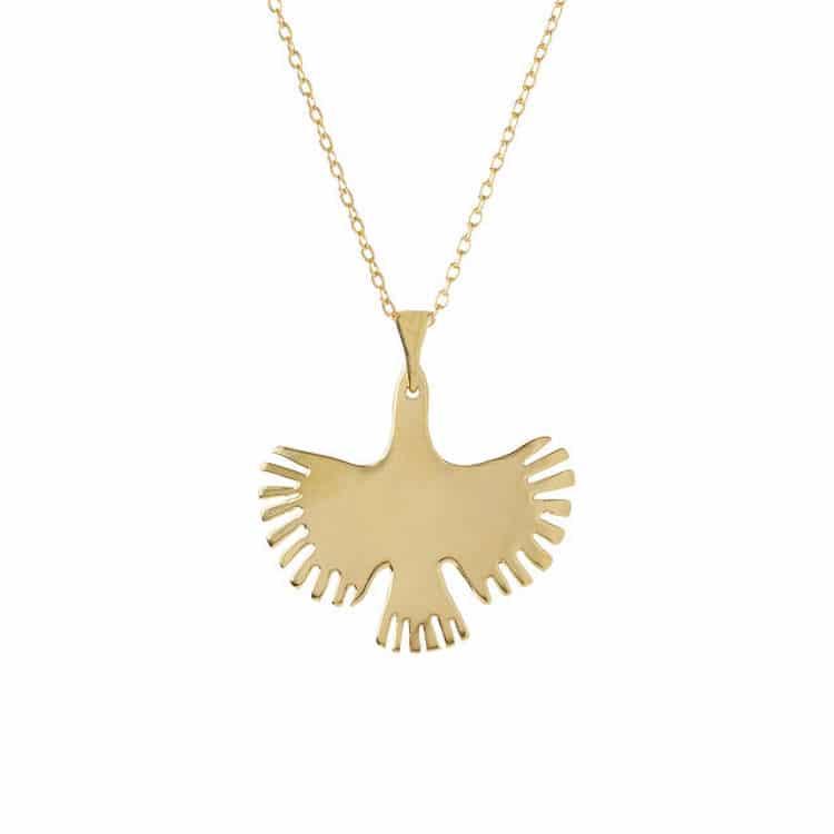 Ava Bird Necklace