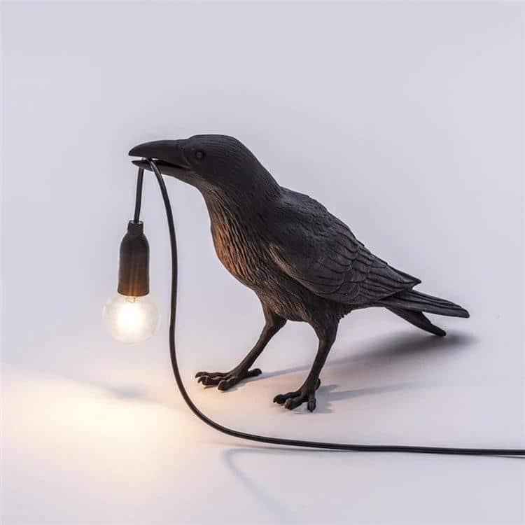 Black Bird Table Lamp