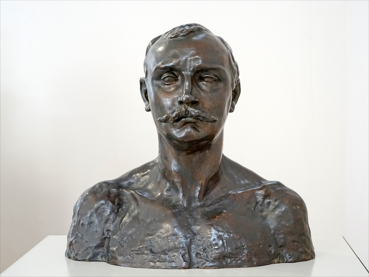 Bust of Paul Claudel by Camille Claudel