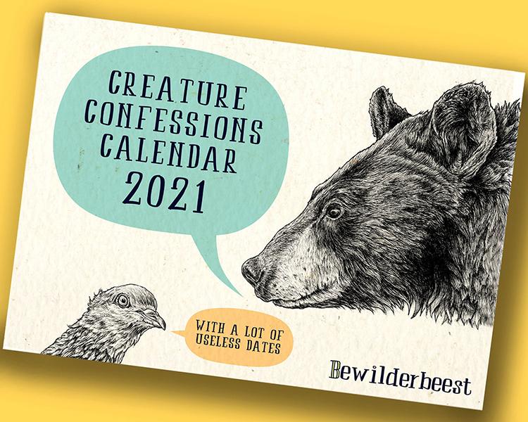 Creature Confessions Calendar