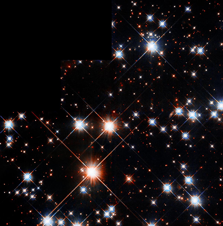 Caldwell 71 Hubble Telescope Anniversary