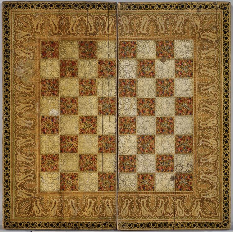 Chess Board India 19th Century